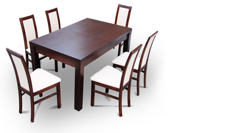 Dining Table Max 200x80(+40)cm
