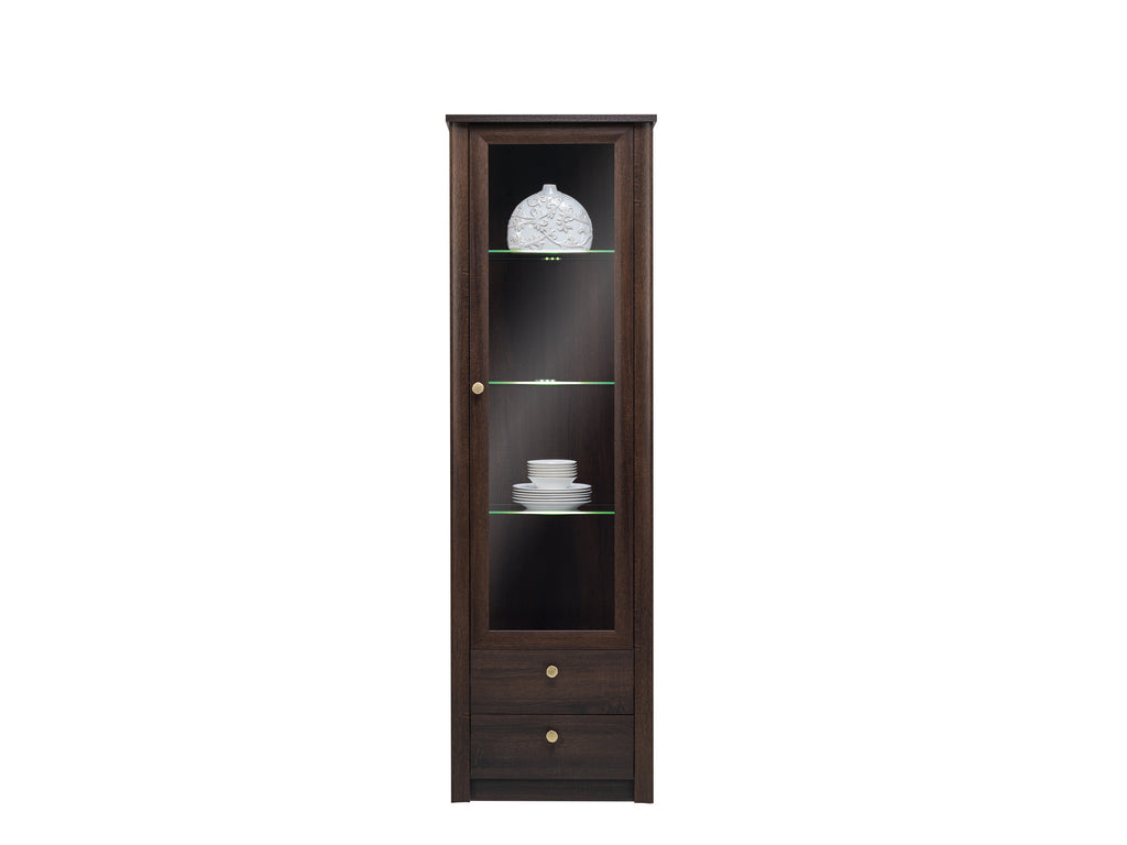 Finesse cabinet II - Chocolate Sonoma Oak F23