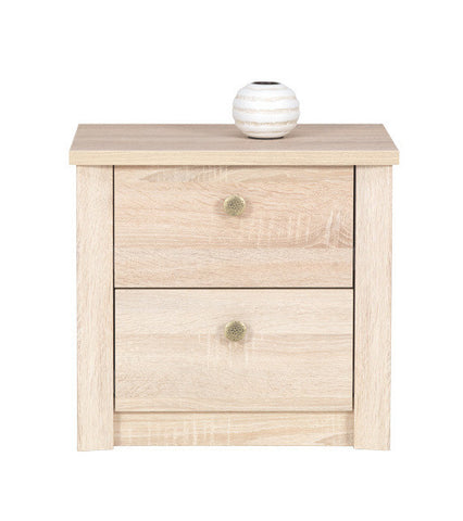 Finesse Bedside Tables - Sonoma Oak