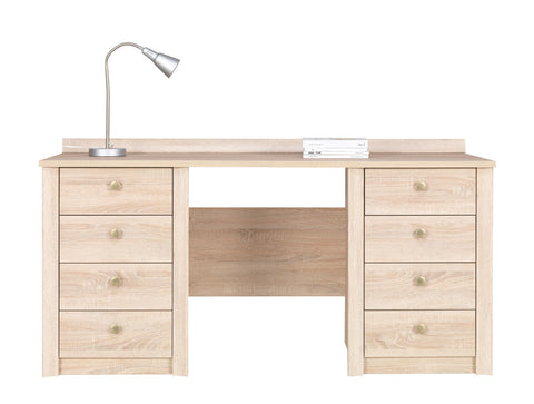 Finesse Desk - Sonoma Oak