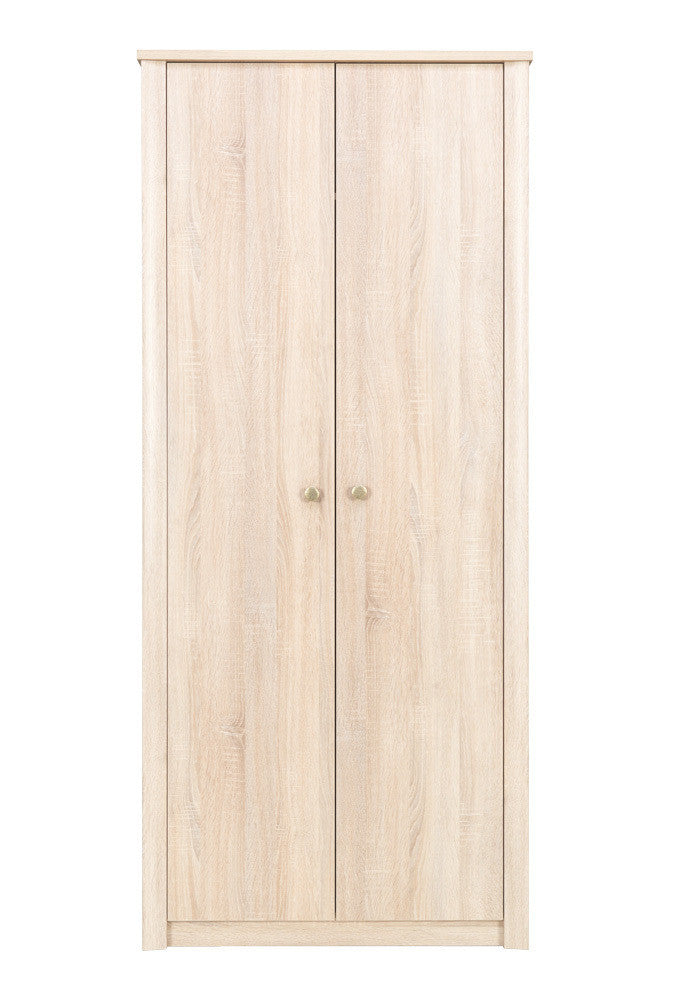 Finesse 2 door Wardrobe-Sonoma Oak