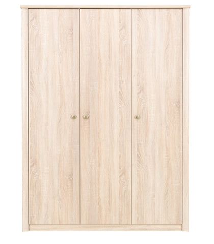 Finesse 3 door Wardrobe-Sonoma Oak
