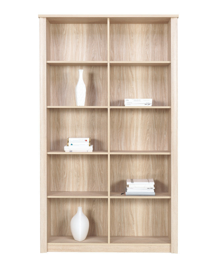 Finesse Bookcase - Sonoma Oak
