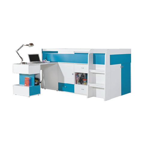 Mobi Bed with Desk 90x200