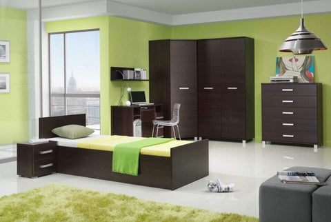 Bedroom Set Maximus 5 elements-chestnut wenge