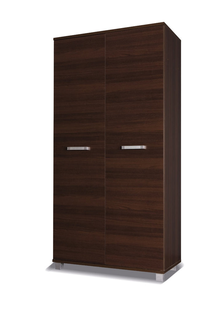 Maximus - 2 door wardrobe - chestnut wenge