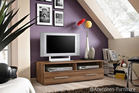 TV unit Bern in plum