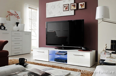 TV unit Bonn III in white