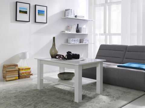 Coffee Table T23 glossy white
