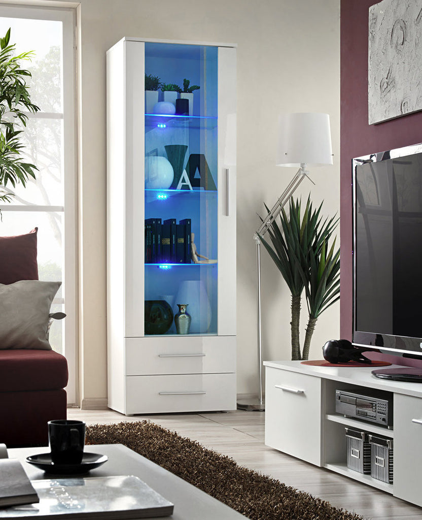 Tall cabinet NEO I-I-white gloss