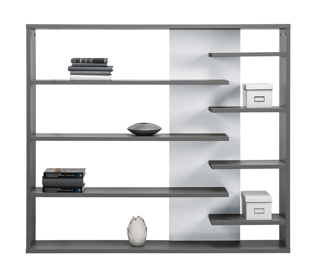 Bookcase Zonda 1-Grey