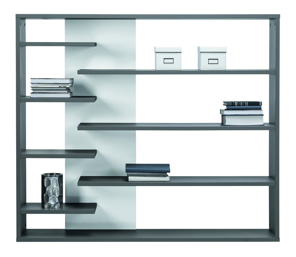 Bookcase Zonda 2-Grey