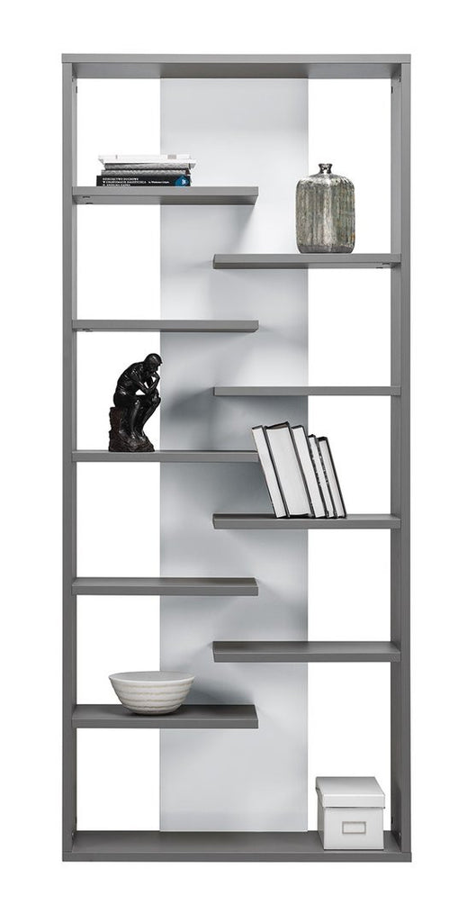 Bookcase Zonda 8-Grey