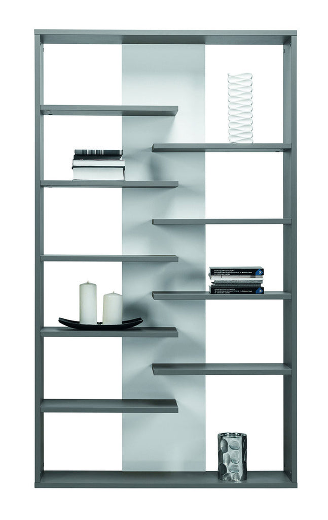 Bookcase Zonda 14-Grey