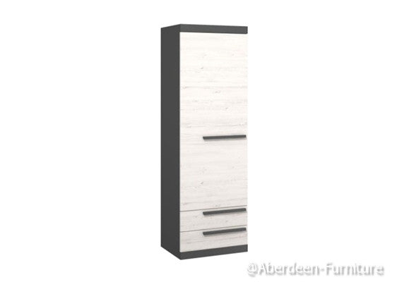 Tall cabinet Tom - Anderson Pine/Graphite