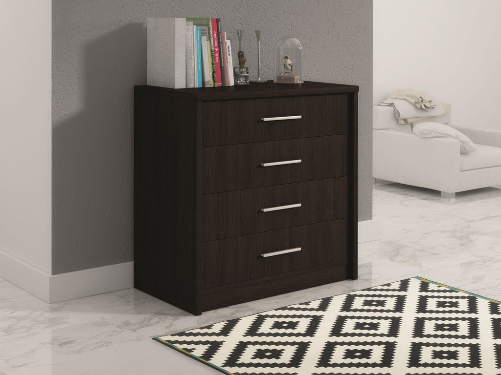 Chest of drawers MALTA 2-Wenge/Walnut