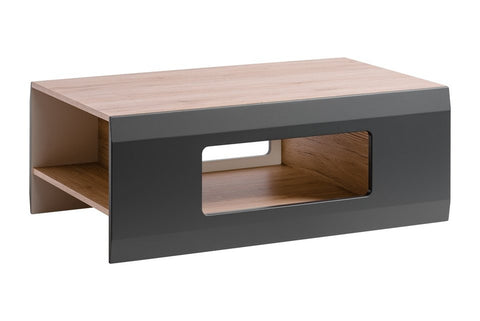 Cool Coffee Table-San Remo Oak/Graphite