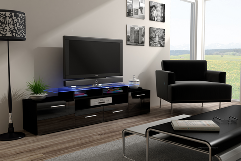 TV Unit Max black
