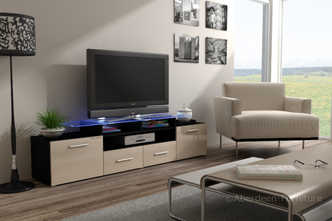 TV unit Max cream fronts