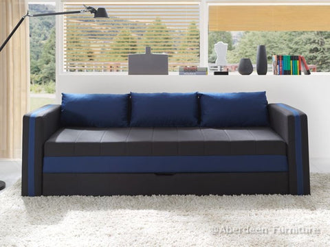 Single Bed Euphoria Blue