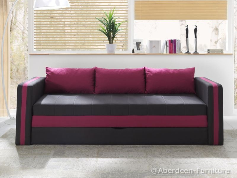 Single Bed Euphoria Pink
