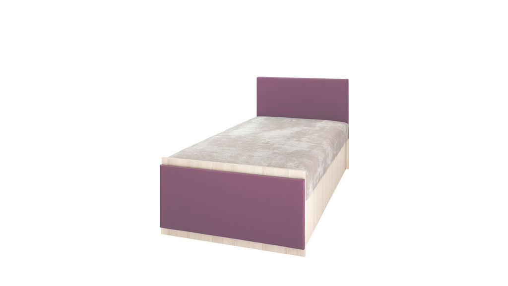 Single bed-violet-bonnell spring mattress