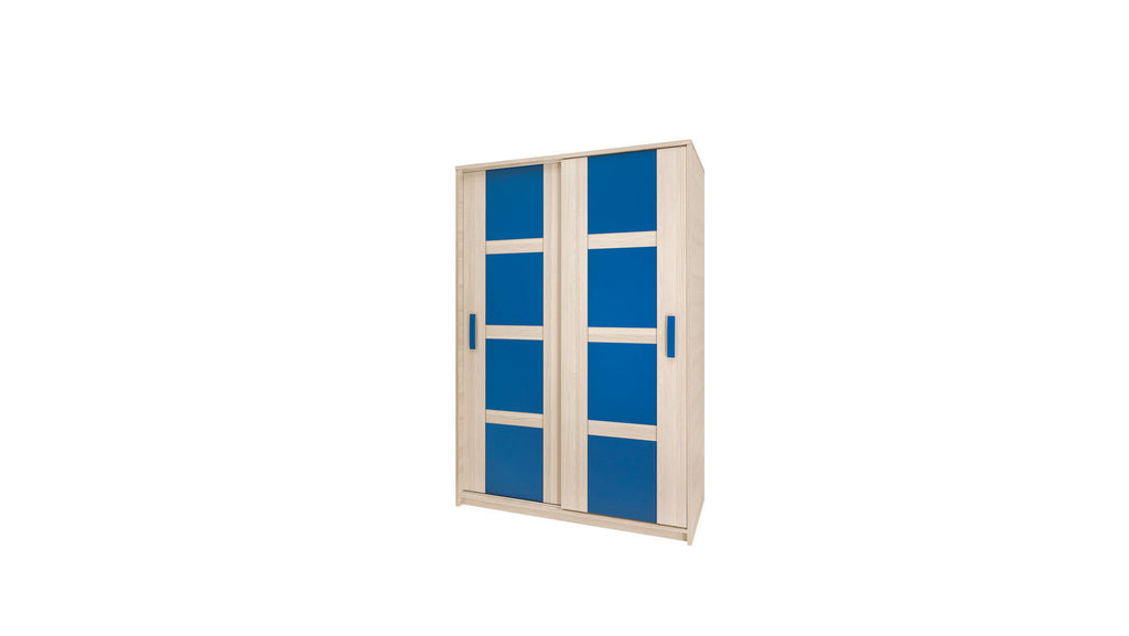 Sliding Wardrobe-blue