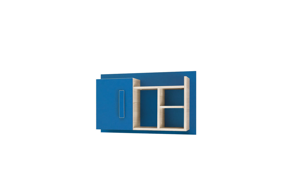 Wall shelf-blue