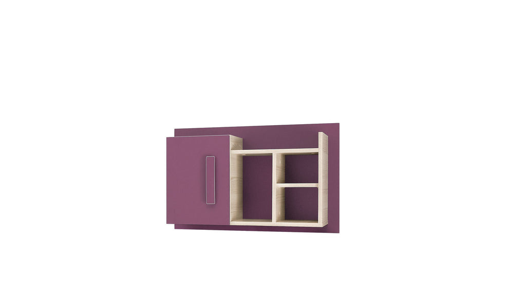 Wall panel-violet