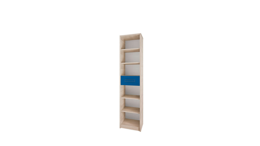 Bookcase - Ash/Blue
