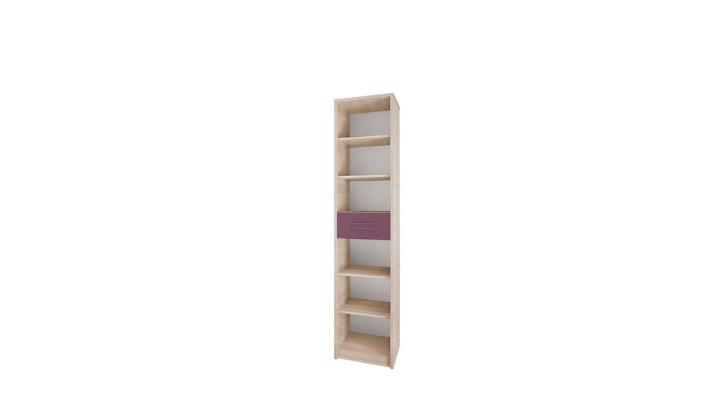 Bookcase - Ash/Purple