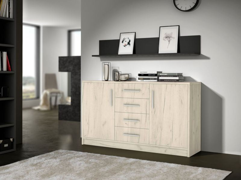 Sideboard  Geneva II Oak Craft