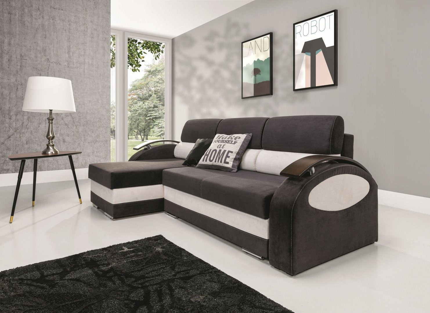 corner sofa bed greta-12 months free credit available online