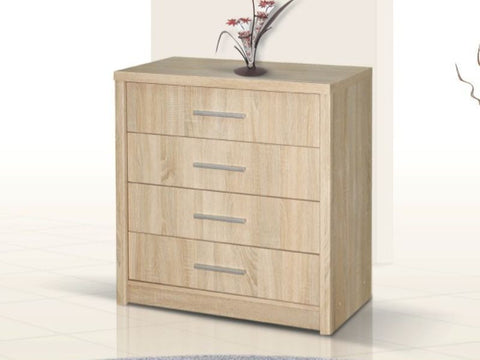 Chest of drawers GENEVA 1-Sonoma Oak