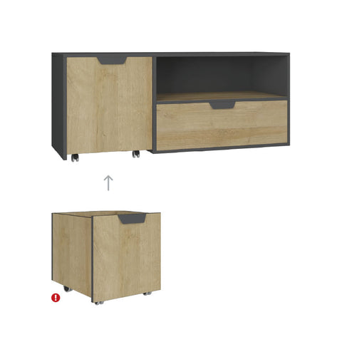 Nano NA10 TV Unit-Oak Riviera