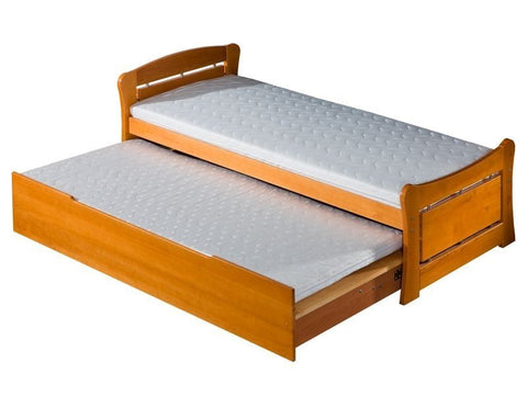 Double bed PAT 2 with storage - you can choose a word or name will be milled
