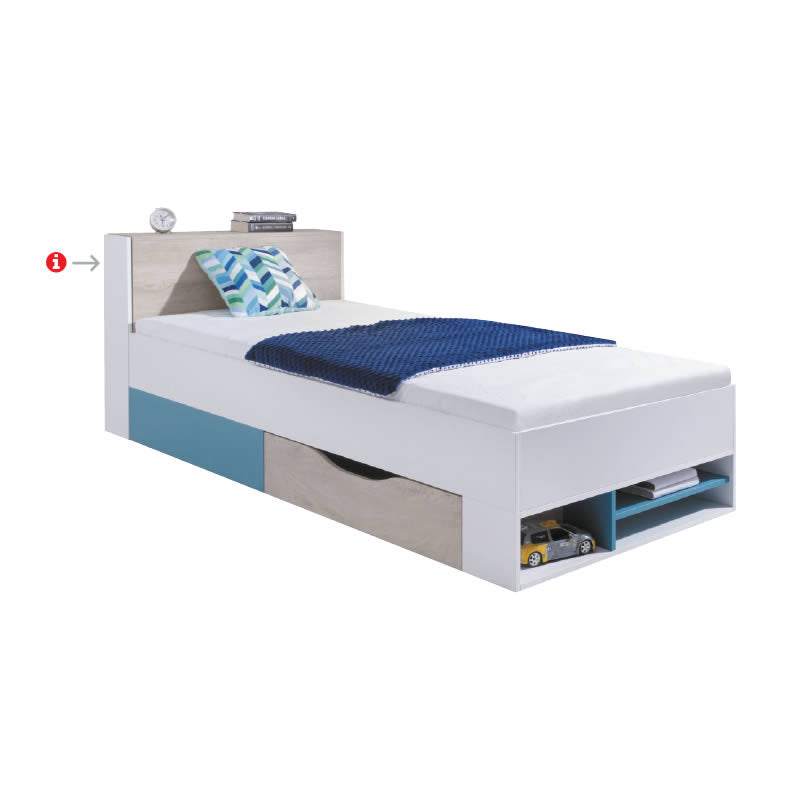 Planet Bed for 90x200 mattress PL14