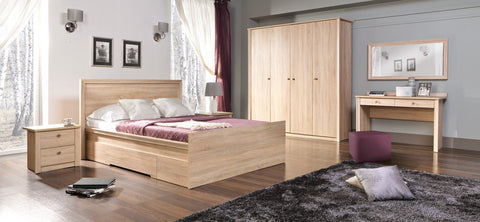 Finesse 5 Pieces Bedroom Set II-Sonoma Oak