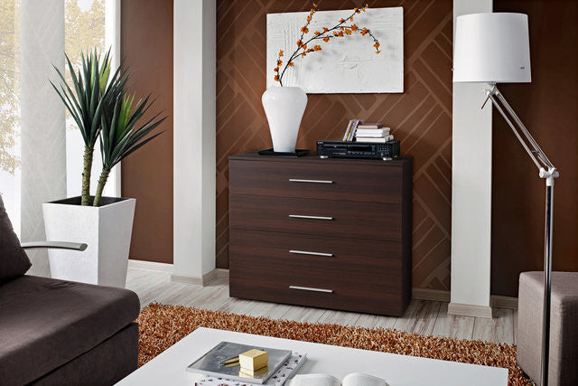 Chest of 4 Drawers-Wenge