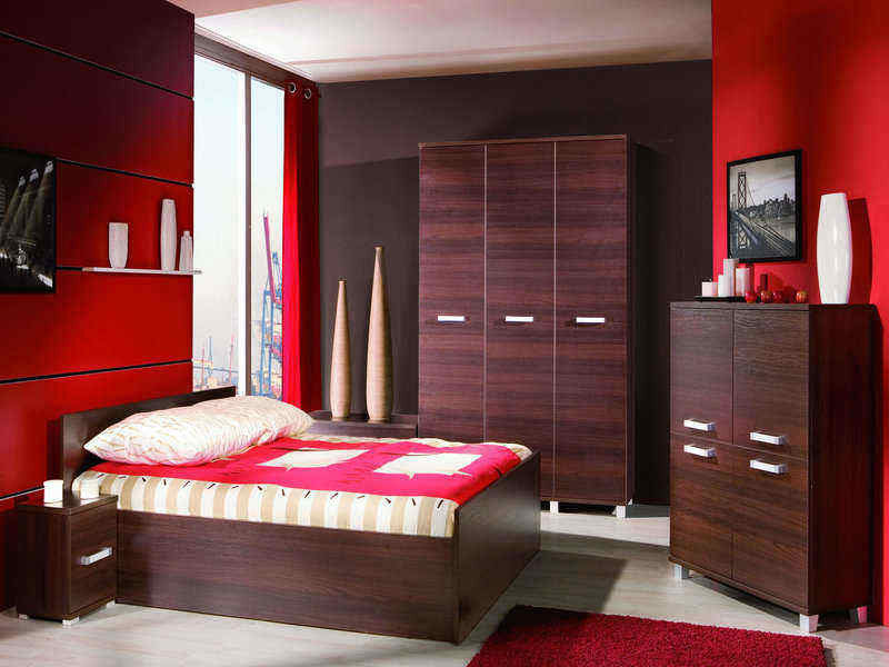 Bedroom Set-Maximus-4 Elements-Chestnut Wenge