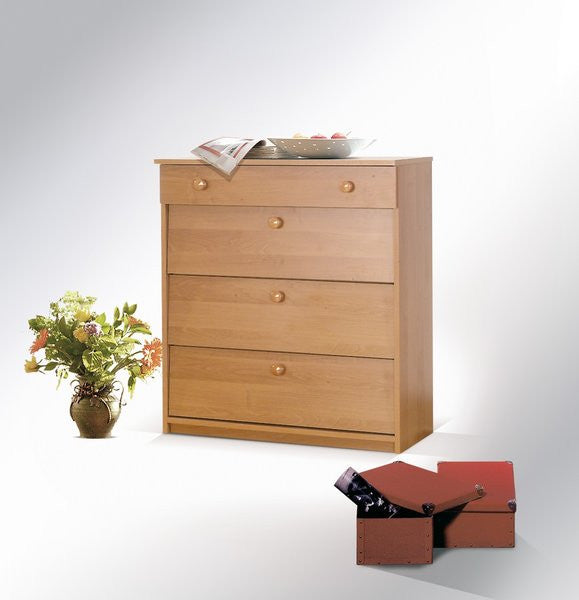 Shoe cabinet and drawer 80 cm width