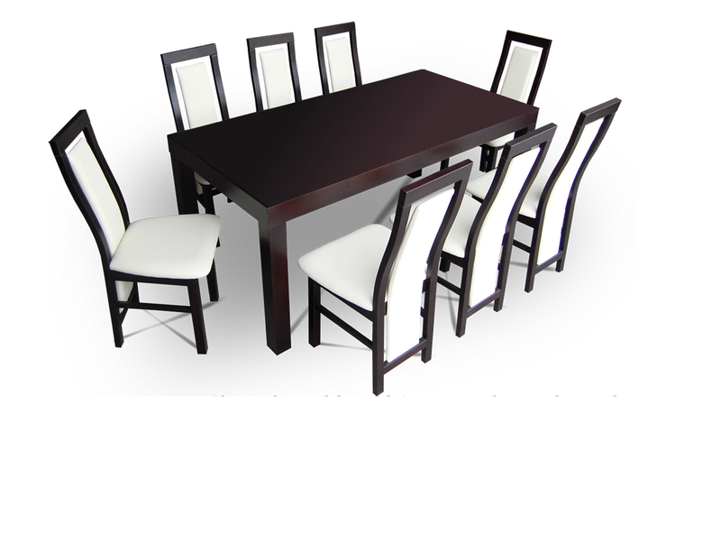 Dining Set-Table+8 chairs wenge