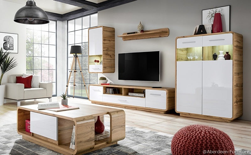 Scandi 4 Piece TV Set