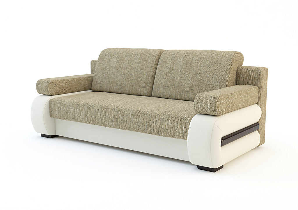 Sofa bed tigra for Sofa bed dimensions unfolded