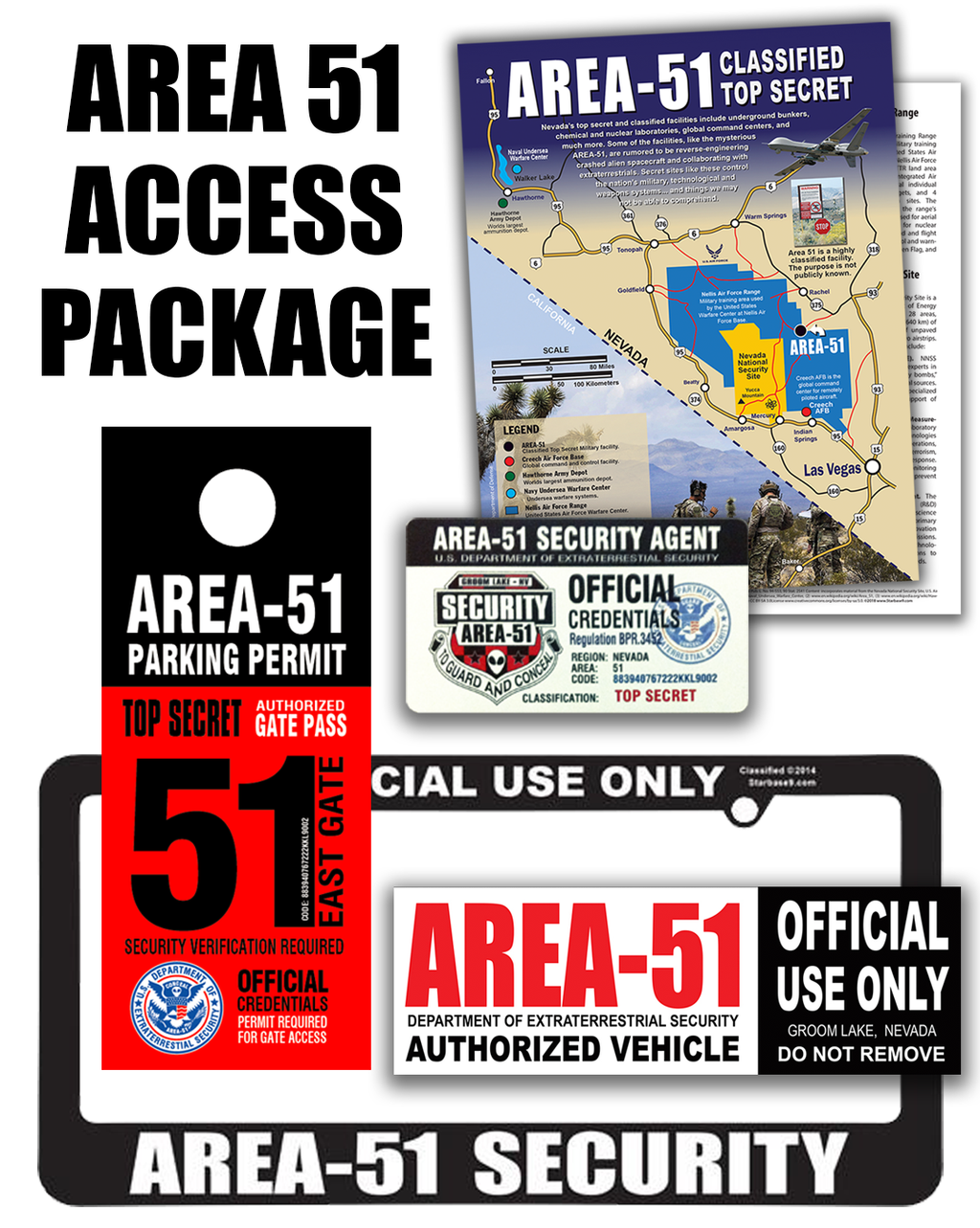 Area 51 Access Package