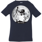 "Area 51 ""ET"" over the moon - 3322 Infant Jersey T-Shirt - Area 51 UFO Souvenirs Gifts T-Shirts"