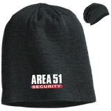 Area 51 Security UFO Alien Slouch Beanie - Area 51 UFO Souvenirs Gifts T-Shirts