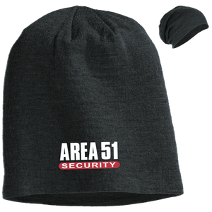 Area 51 Security UFO Alien Slouch Beanie - Starbase9