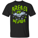 Area 51 Cartoon UFO - G500B Youth 5.3 oz 100% Cotton T-Shirt - Area 51 UFO Souvenirs Gifts T-Shirts