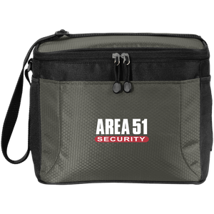 Area 51 UFO Security - BG513 12-Pack Cooler - Starbase9